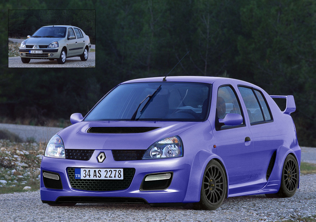 GPWizard F1 Forum - Renault to make 'Super Clio' bodykit
